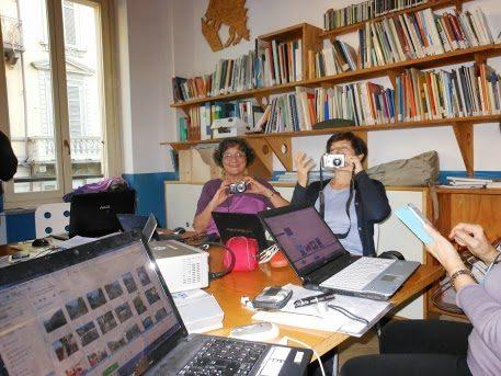 Si riavviano i corsi d'informatica dello spi-cgil di San Salvario!