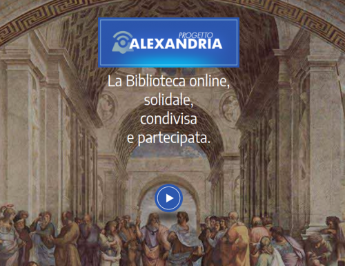 ALEXANDRIA: La Biblioteca online, solidale, condivisa e partecipata.