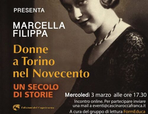 """Leggermente incontra Marcella Filippa, autrice del libro """"Donne a Torino nel Novecento""""."""