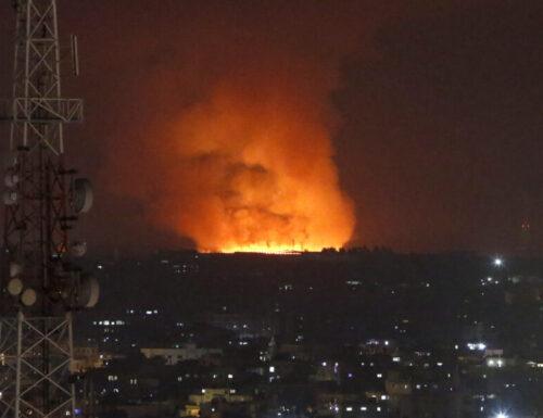 Palestina: cessate il fuoco.